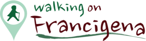 Walking on Francigena logo